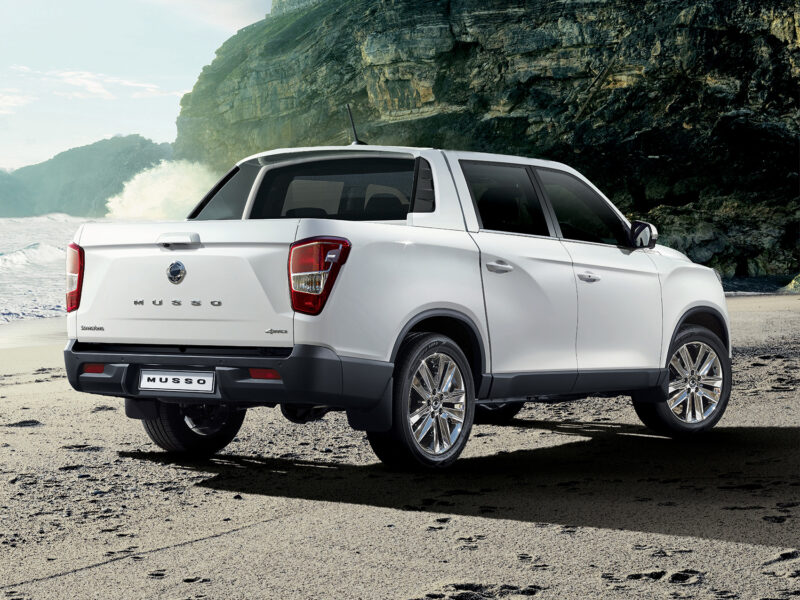 SsangYong Musso with 7 year warranty
