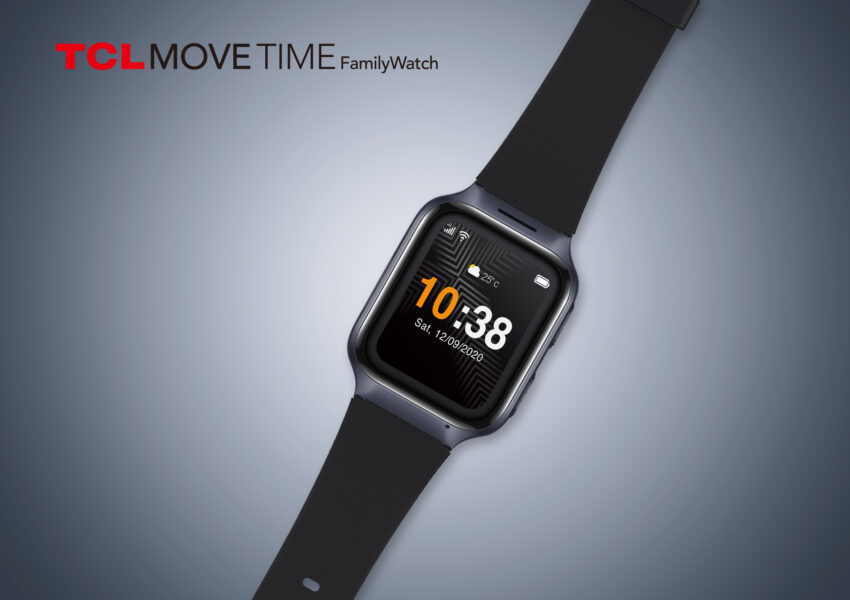A smartwatch aimed at seniors - the TCL Movetime Family Watch