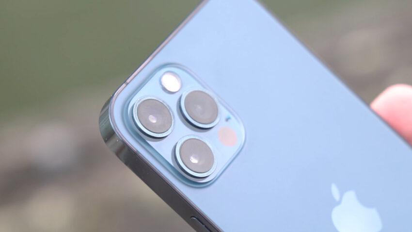 iPhone 12 Pro camera array