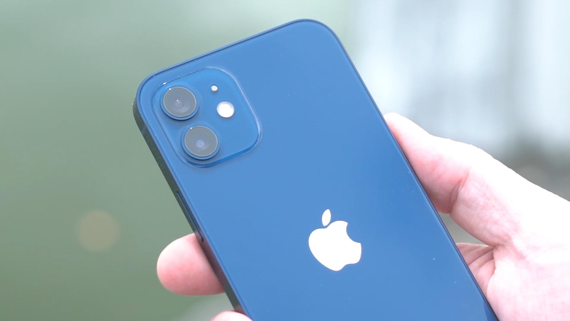 iPhone 12 in Blue