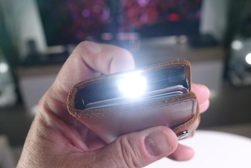 Ledlenser Lite Wallet with torch on