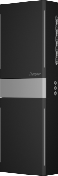 Energizer Homepower unit shown on its own in black