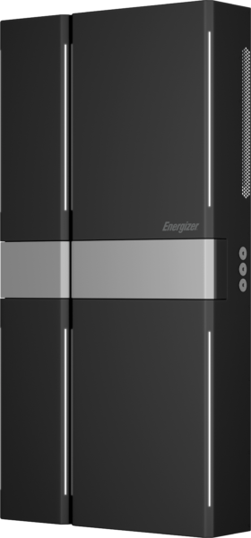 Wider unit showing expanded Energizer Homepower system