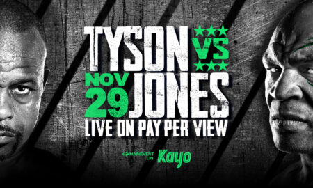 13+ Mike Tyson Vs Roy Jones Jr Official Poster