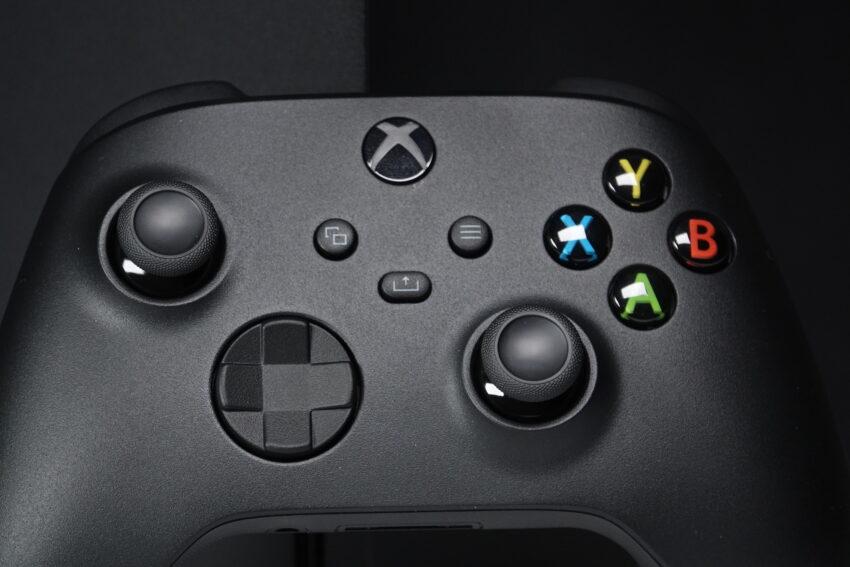 Xbox Series X Controller up close