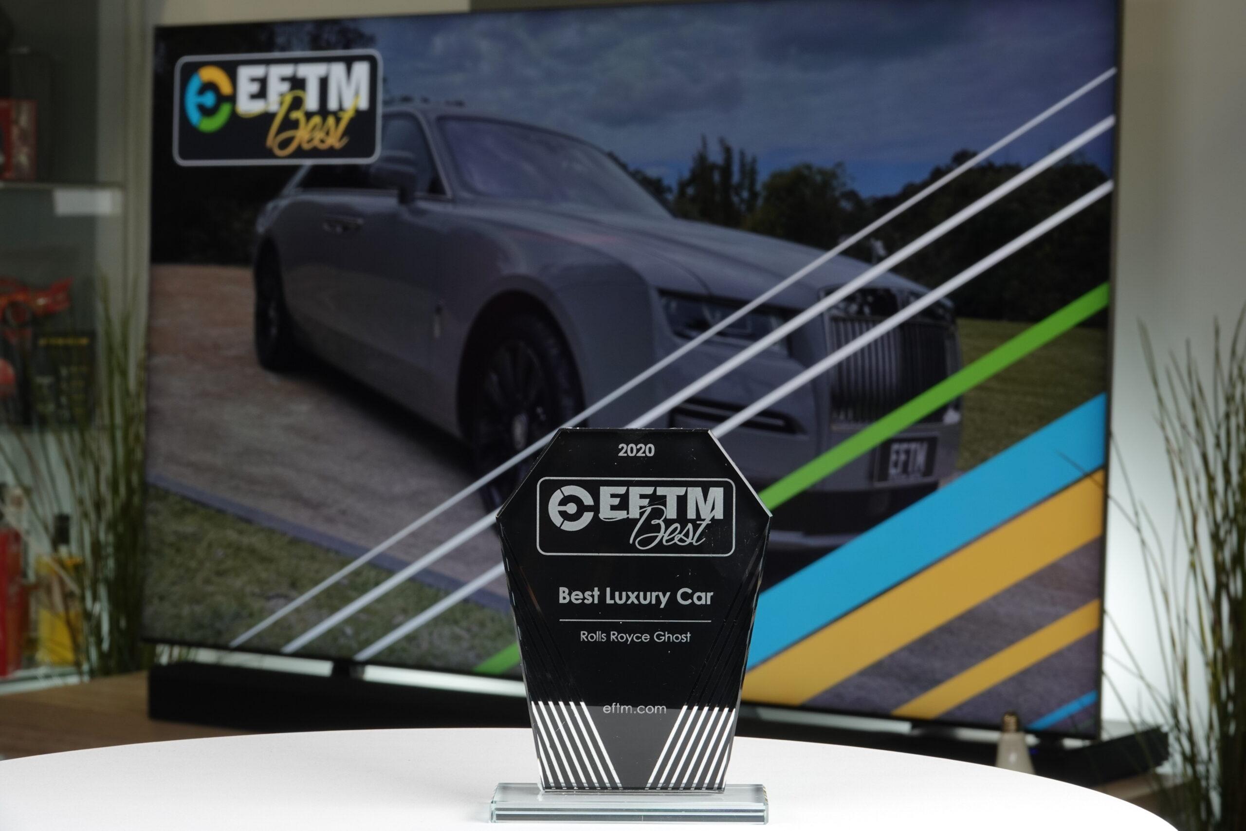 Eftm Best Luxury Car 2020 Rolls Royce Ghost Eftm