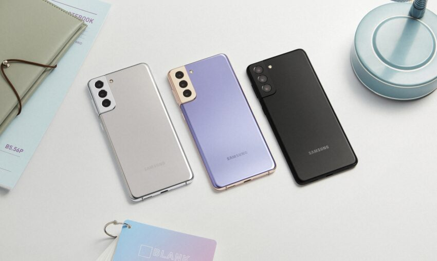 Samsung Galaxy S21 phones