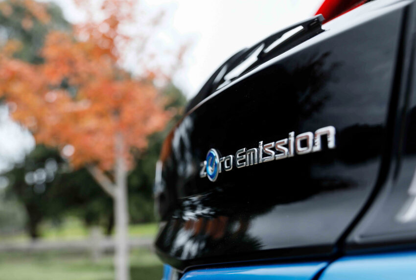"Nissan Leaf is a fully electric ""Zero Emission"" vehicle"